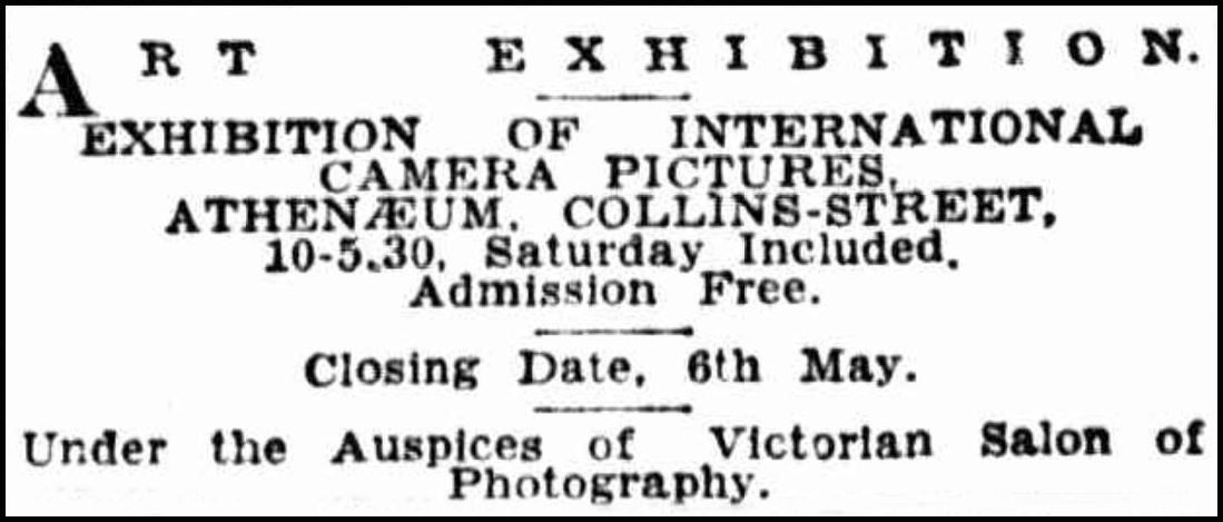 Victorian Salon of Photography